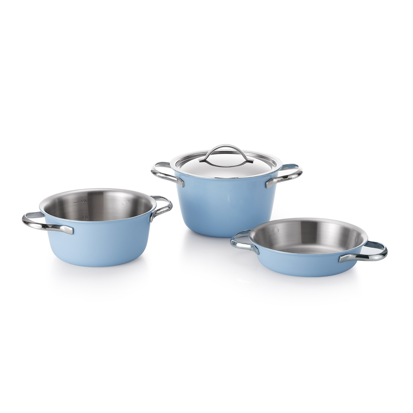 Edelkochen mini set - edel blue